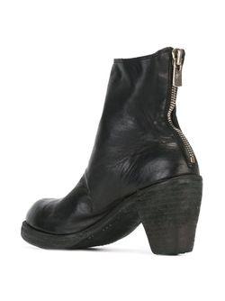 Ботинки На Молнии GUIDI                                                                                                              чёрный цвет