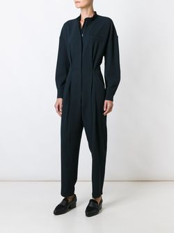 Pleated Jumpsuit Erika Cavallini                                                                                                              синий цвет