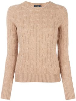 Cable Knit Jumper Polo Ralph Lauren                                                                                                              коричневый цвет
