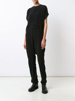 Open Back Jumpsuit Barbara I Gongini                                                                                                              чёрный цвет