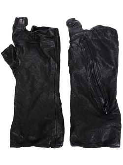 Zip Detail Gloves JULIUS                                                                                                              черный цвет