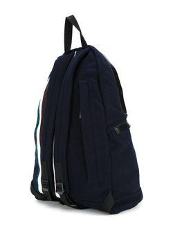 Рюкзак В Полоску Marni                                                                                                              синий цвет