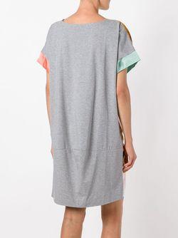 Платье С Акварельным Рисунком Tsumori Chisato                                                                                                              серый цвет