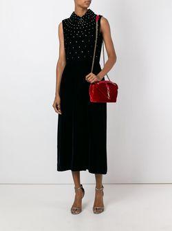 Medium Monogram Shoulder Bag Saint Laurent                                                                                                              красный цвет