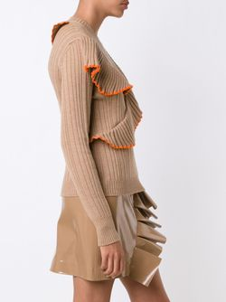 Ruffled Jumper MSGM                                                                                                              Nude & Neutrals цвет
