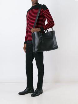 Сумка-Тоут Saint Laurent                                                                                                              чёрный цвет