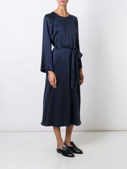 Платье С Поясом Forte Forte                                                                                                              синий цвет