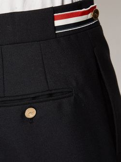 Side Tab Trousers Thom Browne                                                                                                              синий цвет