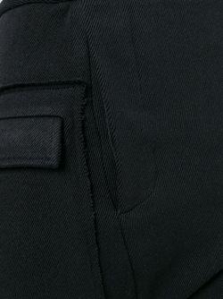 Перекрученные Узкие Брюки A TENTATIVE ATELIER                                                                                                              черный цвет