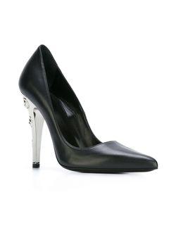 Туфли С Инкрустированными Каблуками Versus                                                                                                              чёрный цвет
