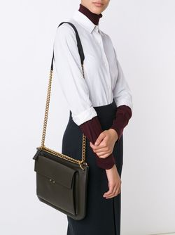 Double Compartment Shoulder Bag Marni                                                                                                              зелёный цвет