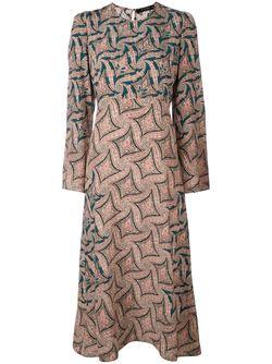 Платье С Узором Пейсли Etro                                                                                                              желтый цвет