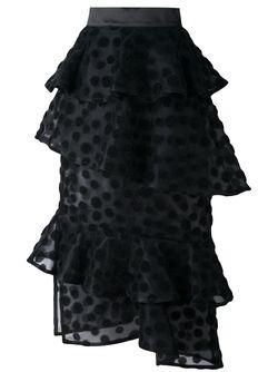 Многослойная Юбка House Of Holland                                                                                                              черный цвет