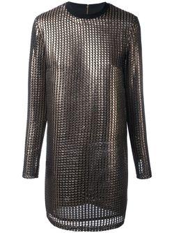 Платье Chainmail House Of Holland                                                                                                              серебристый цвет