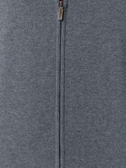 Кардиган Baldemario-B На Молнии Hugo                                                                                                              серый цвет