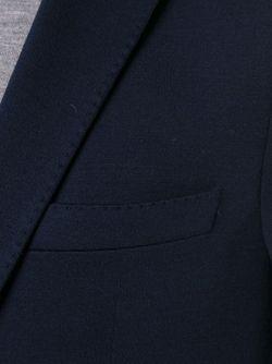 Пиджак Norwin Boss Hugo Boss                                                                                                              синий цвет