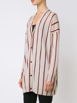 Striped V-Neck Cardigan UMA WANG                                                                                                              Nude & Neutrals цвет