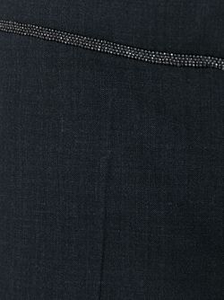 Укороченные Брюки Кроя Слим Brunello Cucinelli                                                                                                              серый цвет