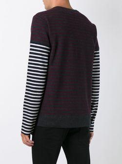 Striped Longsleeved T-Shirt Marni                                                                                                              серый цвет
