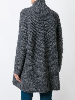 Ribbed Slouchy Cardi-Coat Polo Ralph Lauren                                                                                                              серый цвет
