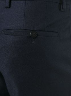 Tailored Slim Fit Trousers Lanvin                                                                                                              синий цвет