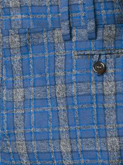 Брюки Кроя Слим В Клетку Vivienne Westwood                                                                                                              синий цвет