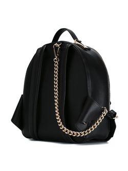 Рюкзак С Тисненым Логотипом Versace                                                                                                              чёрный цвет
