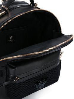 Рюкзак С Тисненым Логотипом Versace                                                                                                              черный цвет
