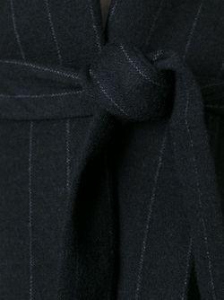 Приталенный Жакет В Полоску Odeeh                                                                                                              черный цвет
