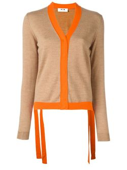 Colour Block Cardigan MSGM                                                                                                              Nude & Neutrals цвет