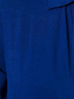 Рубашка С V-Образным Вырезом MAJESTIC FILATURES                                                                                                              синий цвет