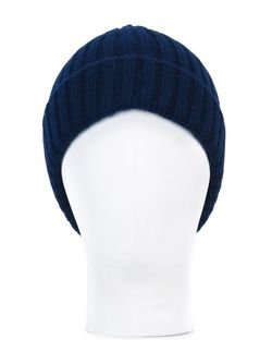 Вязаная Шапка-Бини В Рубчик Vanessa Bruno                                                                                                              синий цвет