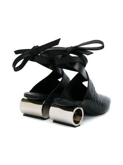 Мюли На Контрастном Каблуке J.W. Anderson                                                                                                              чёрный цвет