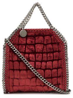 Маленькая Сумка-Тоут Falabella Stella Mccartney                                                                                                              красный цвет