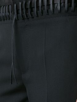 Whipstitch Waistband Trousers Haider Ackermann                                                                                                              чёрный цвет