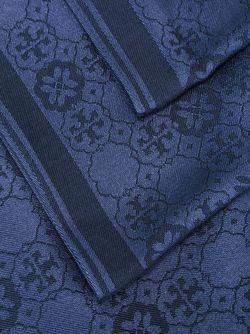 Jacquard Scarf Tory Burch                                                                                                              синий цвет