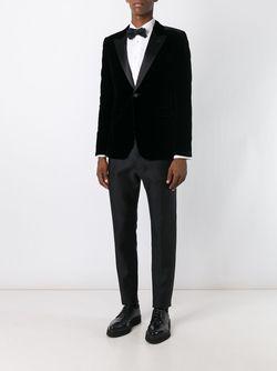 Бархатный Блейзер Saint Laurent                                                                                                              черный цвет