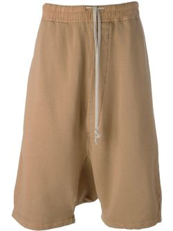 Casual Drop-Crotch Shorts RICK OWENS DRKSHDW                                                                                                              Nude & Neutrals цвет