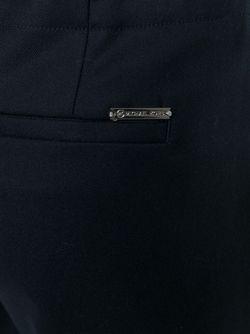 Укороченные Брюки-Палаццо Michael Michael Kors                                                                                                              синий цвет