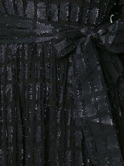 Полупрозрачное Платье-Рубашка DODO BAR OR                                                                                                              чёрный цвет
