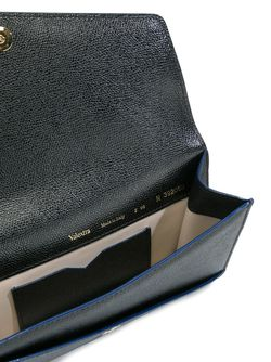 Clasp Closure Cross Body Bag Valextra                                                                                                              чёрный цвет