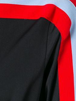 Платье С Плиссированной Юбкой И Длинными Рукавами MSGM                                                                                                              чёрный цвет