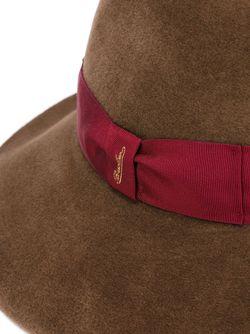 Фетровая Шляпа Borsalino                                                                                                              коричневый цвет