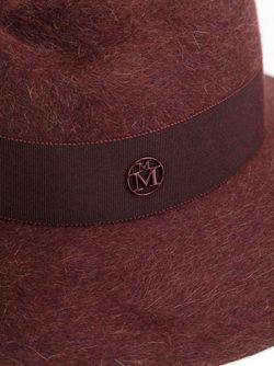 Фетровая Шляпа Virginie Maison Michel                                                                                                              красный цвет
