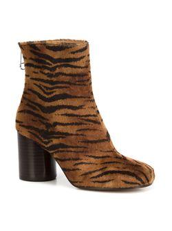 Ботинки По Щиколотку Tabi Maison Margiela                                                                                                              коричневый цвет