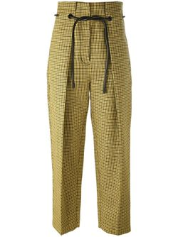 Origami Pleat Houndstooth Trousers 3.1 Phillip Lim                                                                                                              желтый цвет