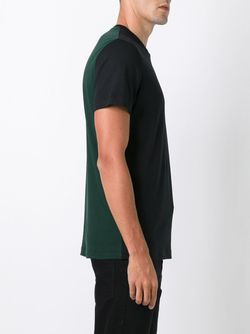 Colour Block T-Shirt Raf Simons                                                                                                              черный цвет