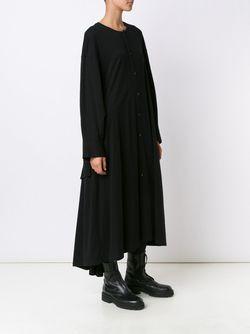 Open Cuff Dress Yohji Yamamoto                                                                                                              чёрный цвет