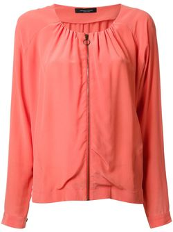 Blouse Zipped Jacket Roberto Collina                                                                                                              желтый цвет