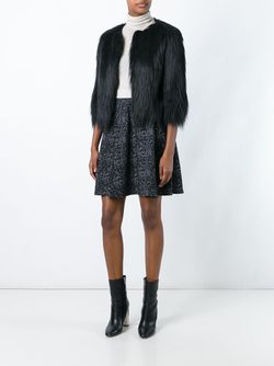 Three-Quarters Sleeved Cropped Jacket Steffen Schraut                                                                                                              черный цвет